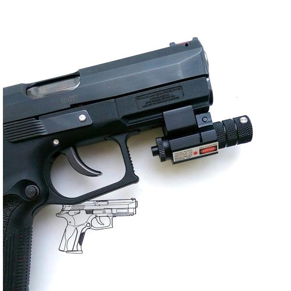 Лазер для пистолета