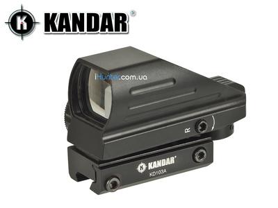 Коллиматорный прицел Kandar 103HD  Ласточкин Хвост