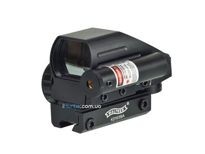 Walther 103HD с Лазерным прицелом на Ласточкин Хвост