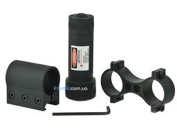 Лазерный целеуказатель Brons с креплением на планку и на оптику