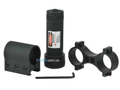 Лазерный прицел с креплением на планку и на оптику