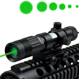 Лазерный фонарь для охоты Зеленого Цвета