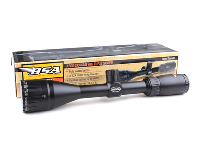 Оптический прицел BSA Essential AR 3-12x44 AO Air Rifle Scope Mil-Dot