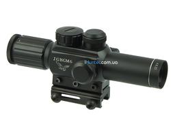 Оптический прицел 4x25 ACCURATE M6 ЛЦУ