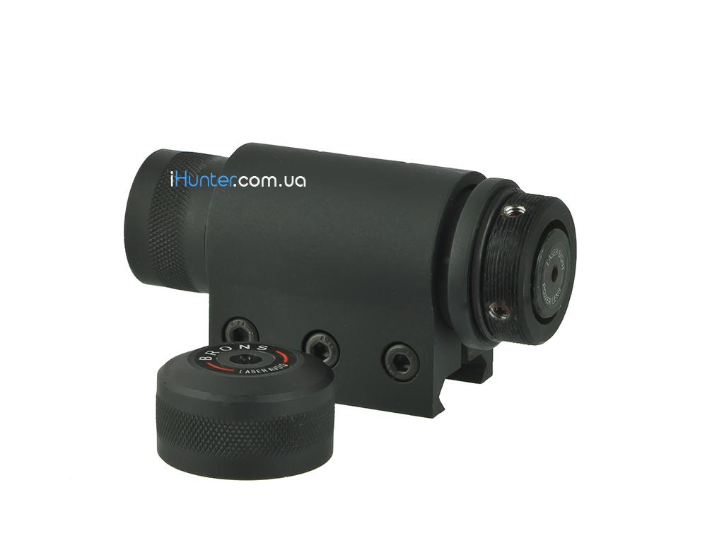 Лазерный целеуказатель Brons Laser Avdio с креплением на планку Weaver