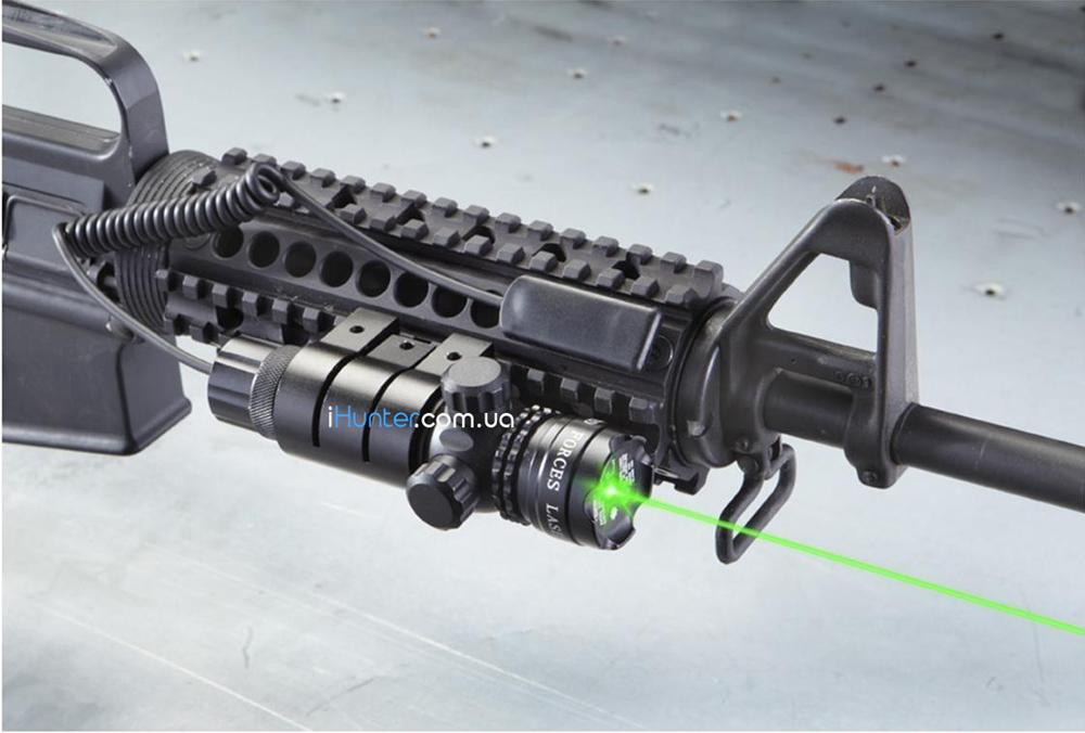 зеленый лазерный целеуказатель