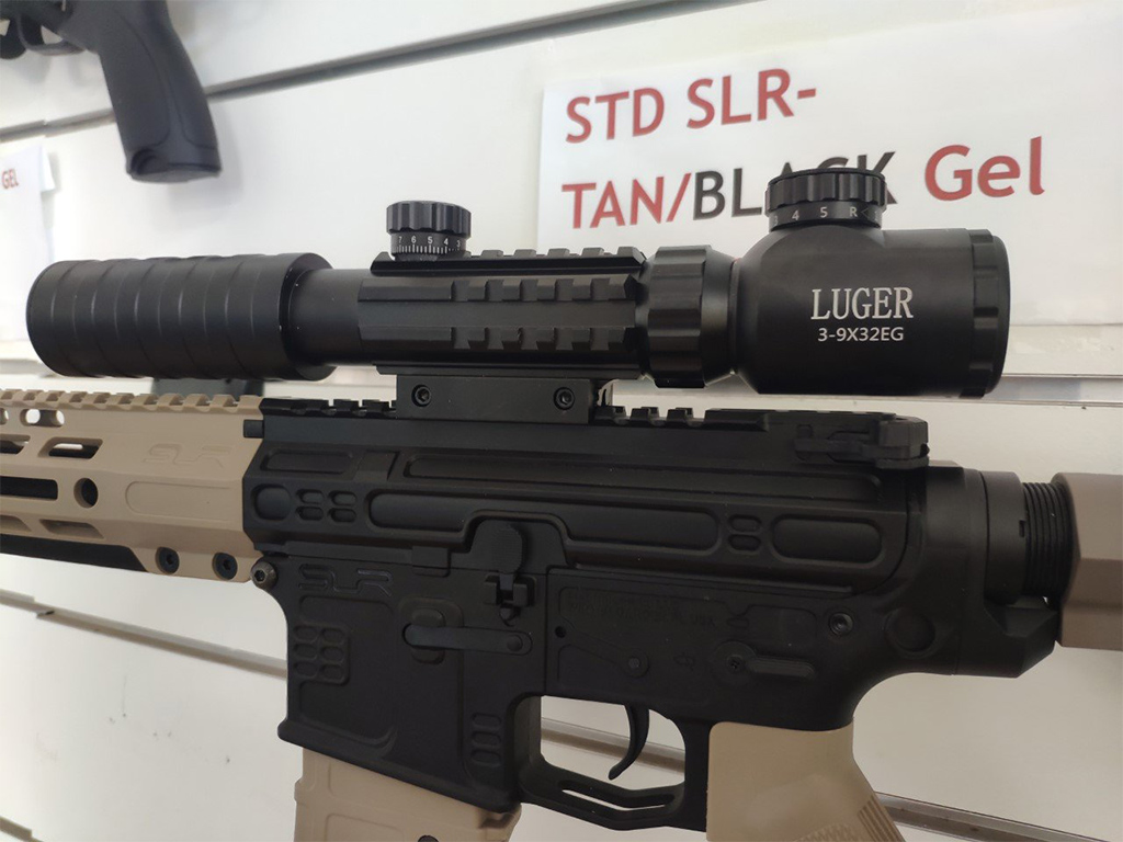 Оптический Прицел Luger 3-9x32EG