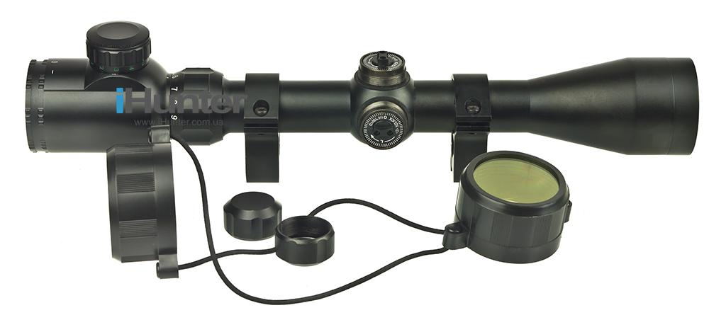 Оптический Прицел GAMO 3-9x40E + кольца