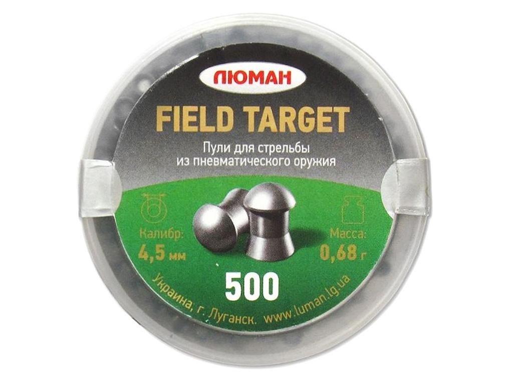 Пули Люман Field Target 0,68 г., 4,5 мм (500 шт.)